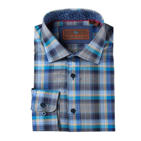 Classic Fit Sport Shirt // Blue Plaid (XS)