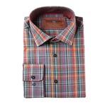 Miles Woven Sport Shirt // Orange (XS)