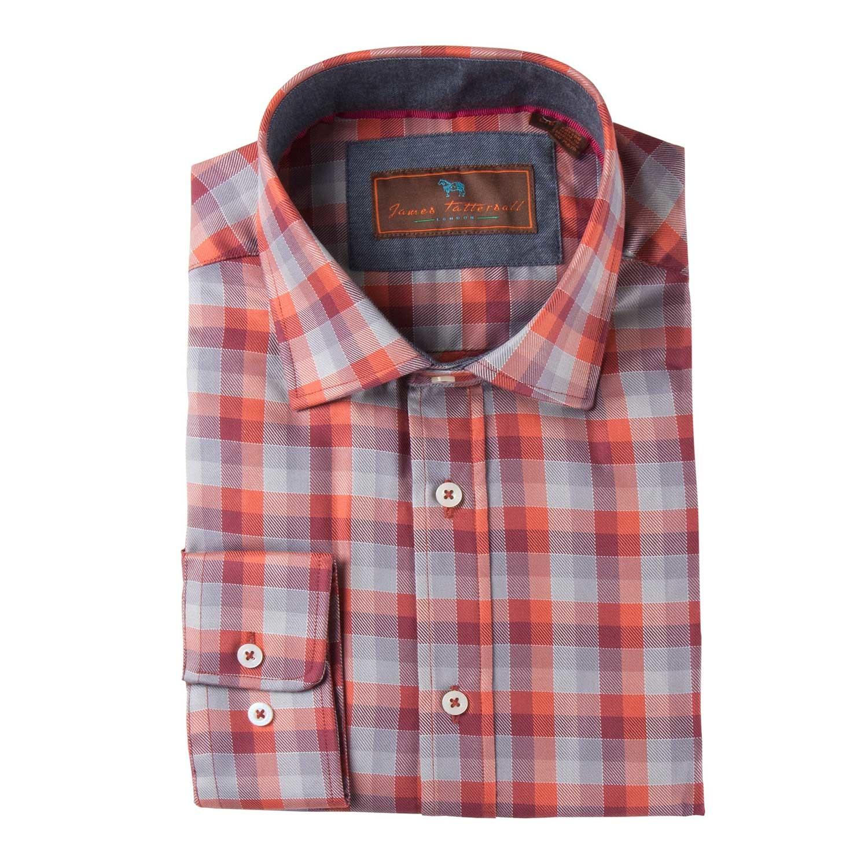 Batten woven sport shirt red m