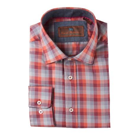 Batten Woven Sport Shirt // Red