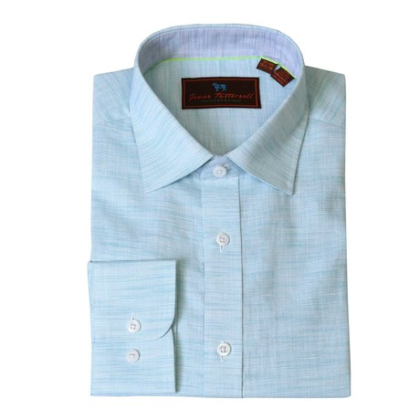 Ruiz Woven Sport Shirt // Aqua (XS)