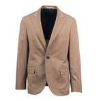 Olbia Wool Blend Suit // Brown (Euro: 50)