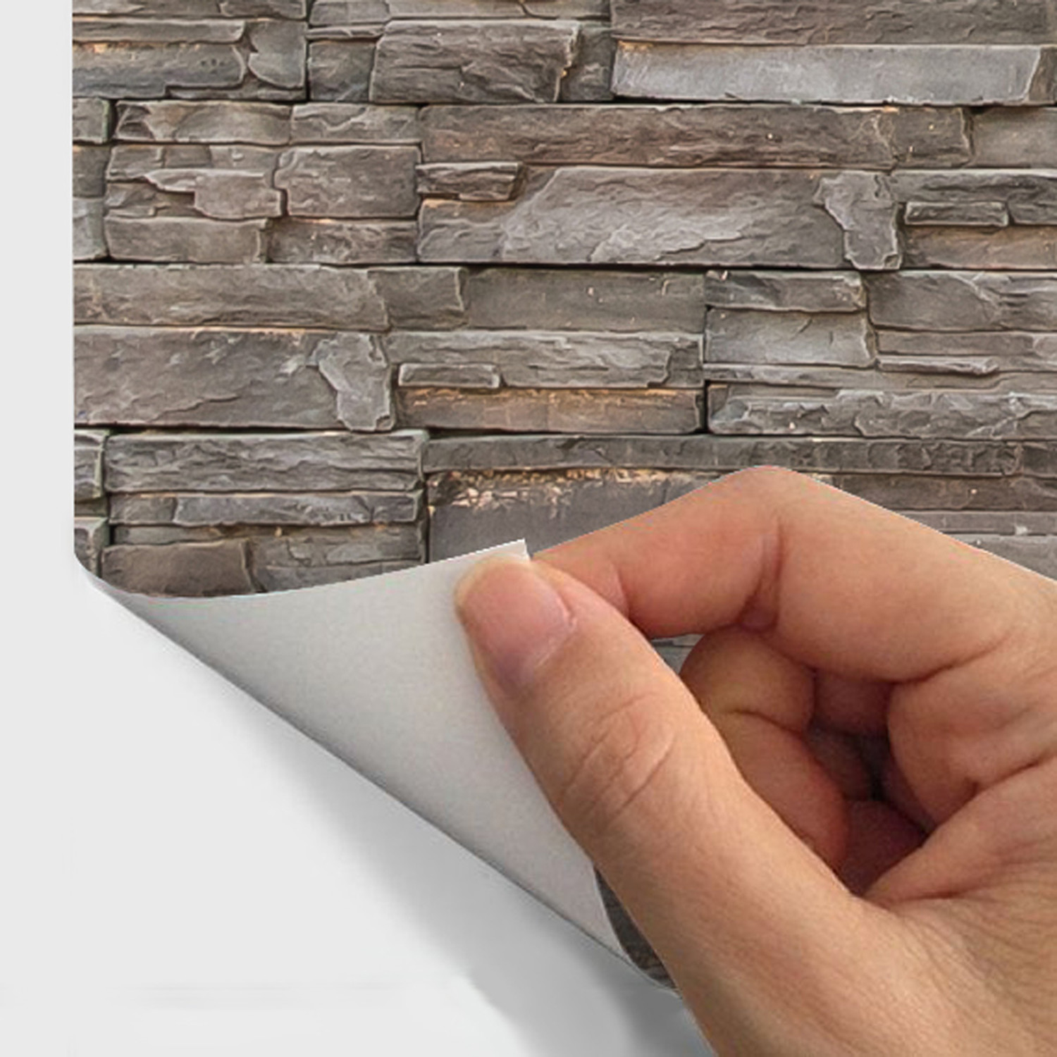 Materials Stone Cladding - 3D Wall Decals - Touch of Modern