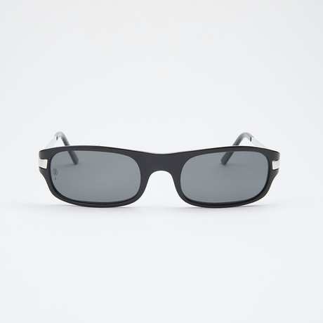 Men's T8200548 Sunglasses // Black-Brushed Platinum