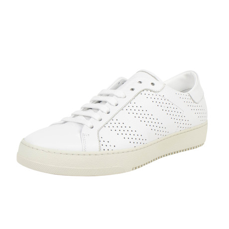 Perforated Sneakers // White
