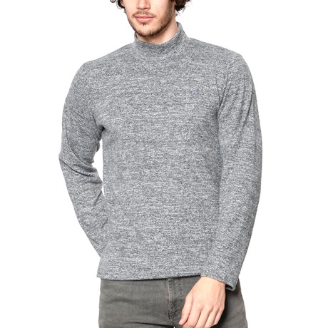Turtleneck Sweatshirt // Gray (Small)