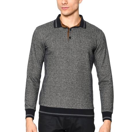 1020 Sweatshirt // Herringbone Anthracite (XL)