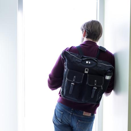 Phlox Backpack // Black