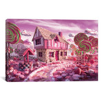 "Candy Cottage // Carl Warner (26""W x 18""H x 0.75""D)"