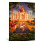 """Taj Mahal // Carl Warner (18""""W x 26""""H x 0.75""""D)"""