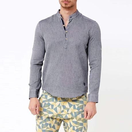 Douglas Button-Up Shirt // Black
