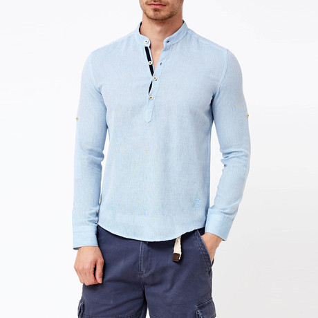 Douglas Button-Up Shirt // Blue