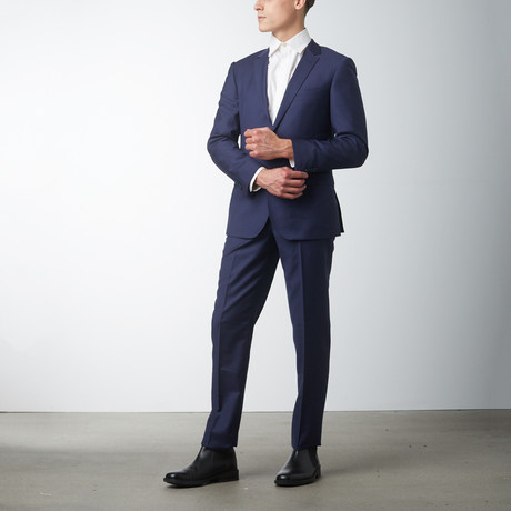 Slim Fit Suit // Blue (US: 36S)