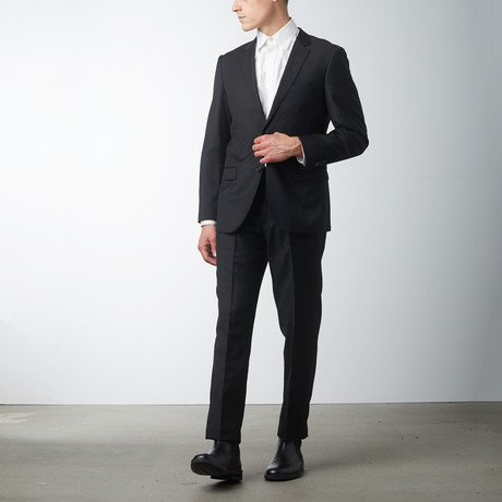 Slim Fit Suit // Black (US: 36S)