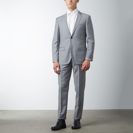 Slim Fit Suit // Light Gray (US: 36S)