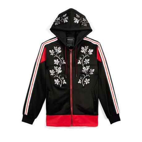 Vines Hood // Black + Red