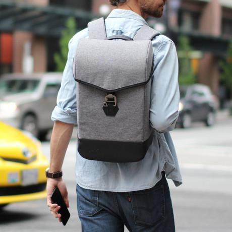 Hustle Backpack // Steel