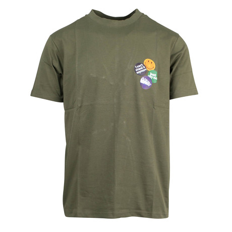 Pins T-Shirt // Green
