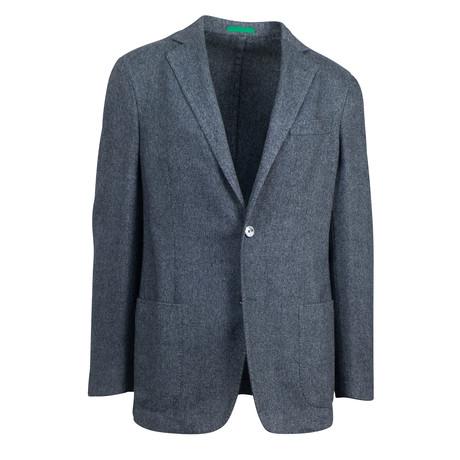 Vicenza Cashmere Blend Sport Coat // Gray
