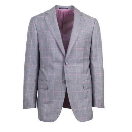 Pal Zileri // Andria Wool Blend Sport Coat // Gray (US: 48R)