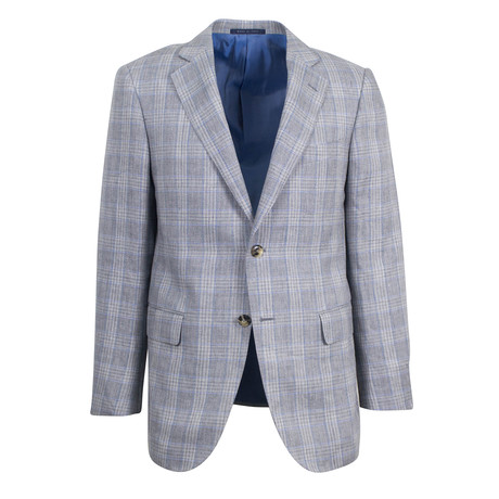 Pal Zileri // Arezzo Wool Blend Sport Coat // Gray (US: 48R)