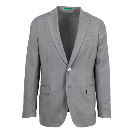 Pal Zileri // Treviso Wool Blend Sport Coat // Gray (US: 48R)