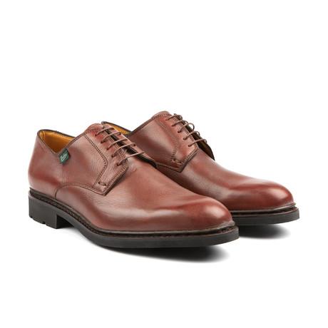 Plain Toe Lace Up // Brown
