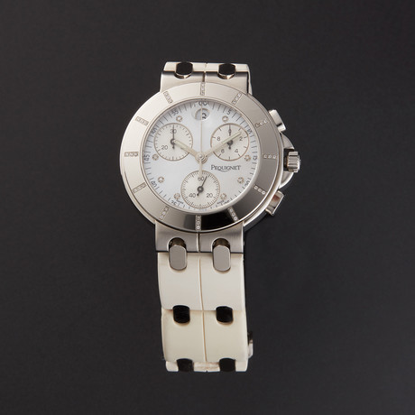 Pequignet Moorea Chronograph Quartz // 1328509/31 // Store Display
