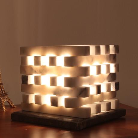 Cubic Cage Lamp