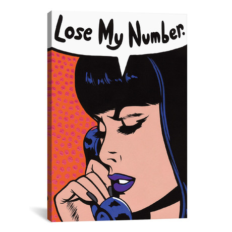 Lose My Number Comic Girl // Allyson Gutchell