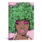 Green Kawaii Comic Girl // Allyson Gutchell