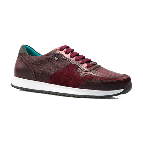 Roger Low Top Runner // Maroon (Euro: 39)