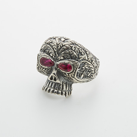 Fuchsia Agitator Eye Skull (Size 9.5)