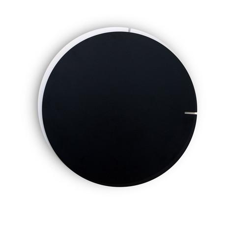 Melancholia Clock // Black Minute Hand + White Hour Hand