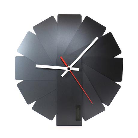 Transformer Clock // Black
