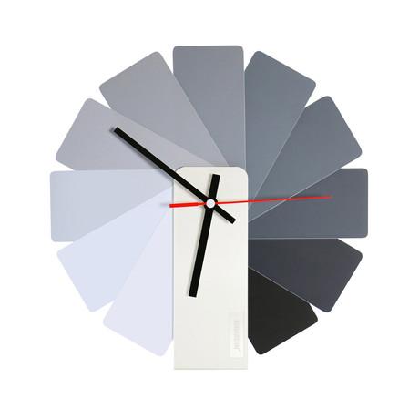 Transformer Clock // Monochrome (Black Case)