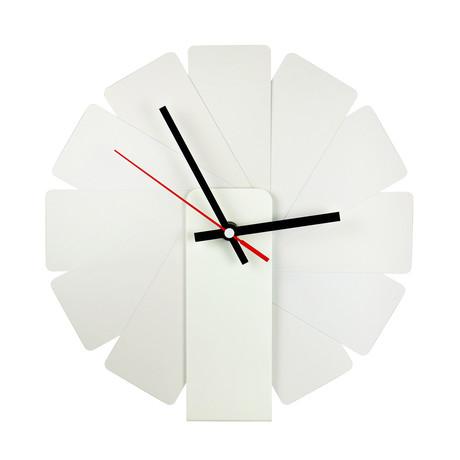 Transformer Clock // White