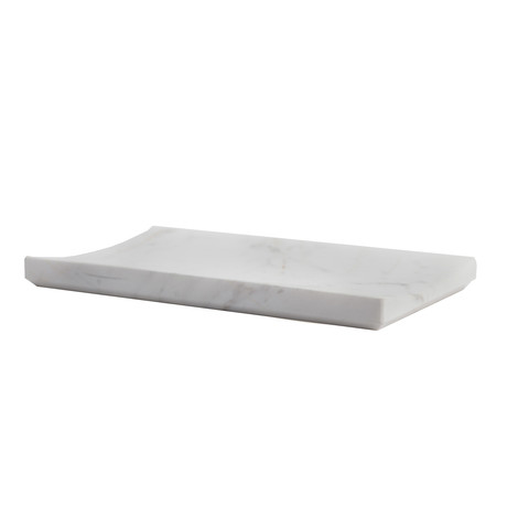 Carrara // Tray (White Marble)