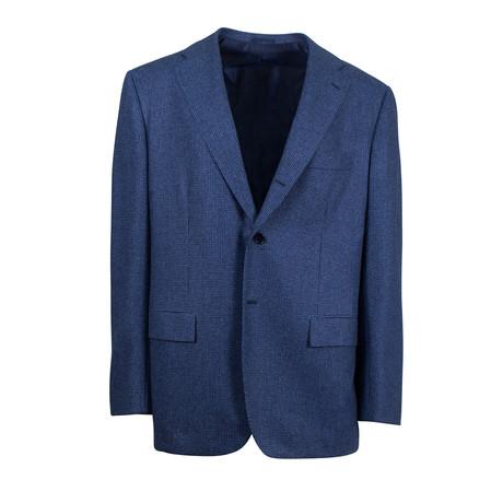 Wool Sport Coat // Blue