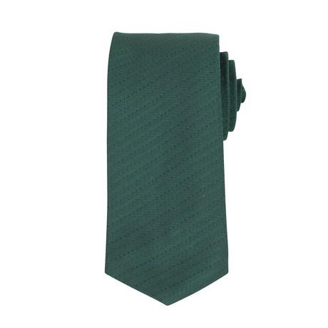 John Lobb // Silk Tie // Green