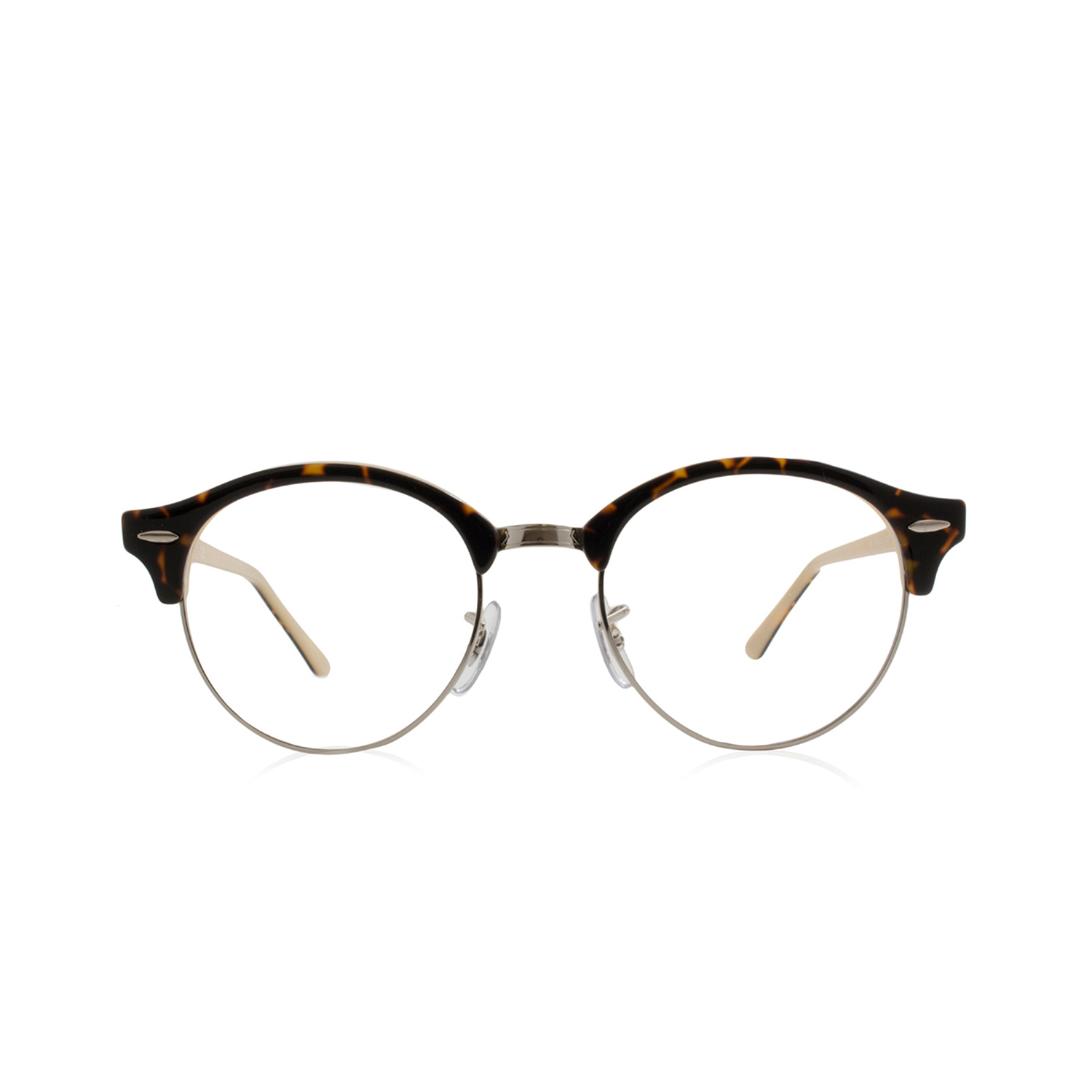 fdf824c9d0 Ray-Ban    Clubround Acetate Optical Frame    Top Havana + Opal Peach - Ray- Ban - Touch of Modern