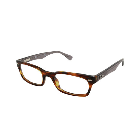 Acetate Optical Frame // Striped Havana