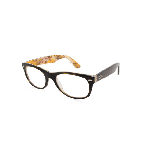 Ray-Ban // Unisex Wayfarer Optical Frame // Tortoise Multi