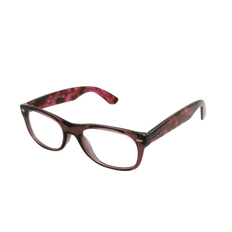 Ray-Ban // Unisex Wayfarer Optical Frame // Brown Tortoise