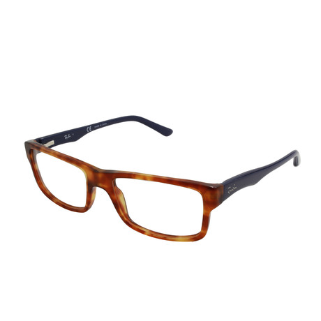 Ray-Ban // Men's Acetate Optical Frame // Yellow Tortoise
