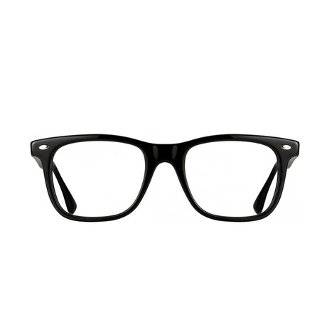 Ray-Ban // Men's Wayfarer Acetate Optical Frame // Shiny Black