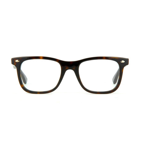 Ray-Ban // Men's Wayfarer Acetate Optical Frame // Dark Havana