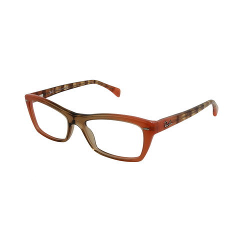 Ray-Ban // Unisex Optical Frame // Gradient Brown + Orange