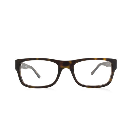 Ray-Ban // Unisex Acetate Optical Frame // Matte Havana