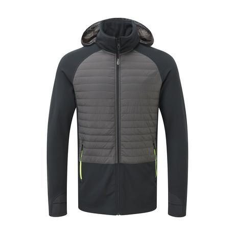 Thermal Panel Jacket // Pewter Grey